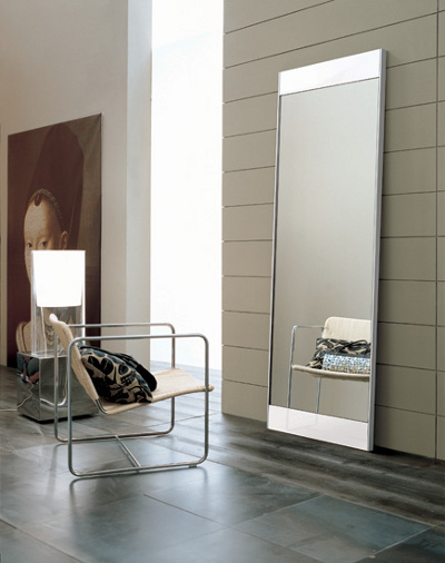 Superb Wonderful White Floor Mirror Furniture Metairie New Orleans Louisiana  Offers Contemporary In Design
