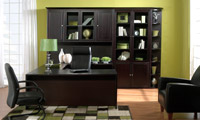 Jesper 2000 Office - Executive - Espresso Finish